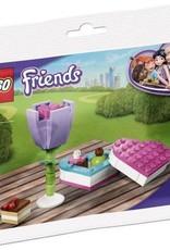 CharactersMania LEGO Friends Snoepdoos en Bloem (Polybag) 30411