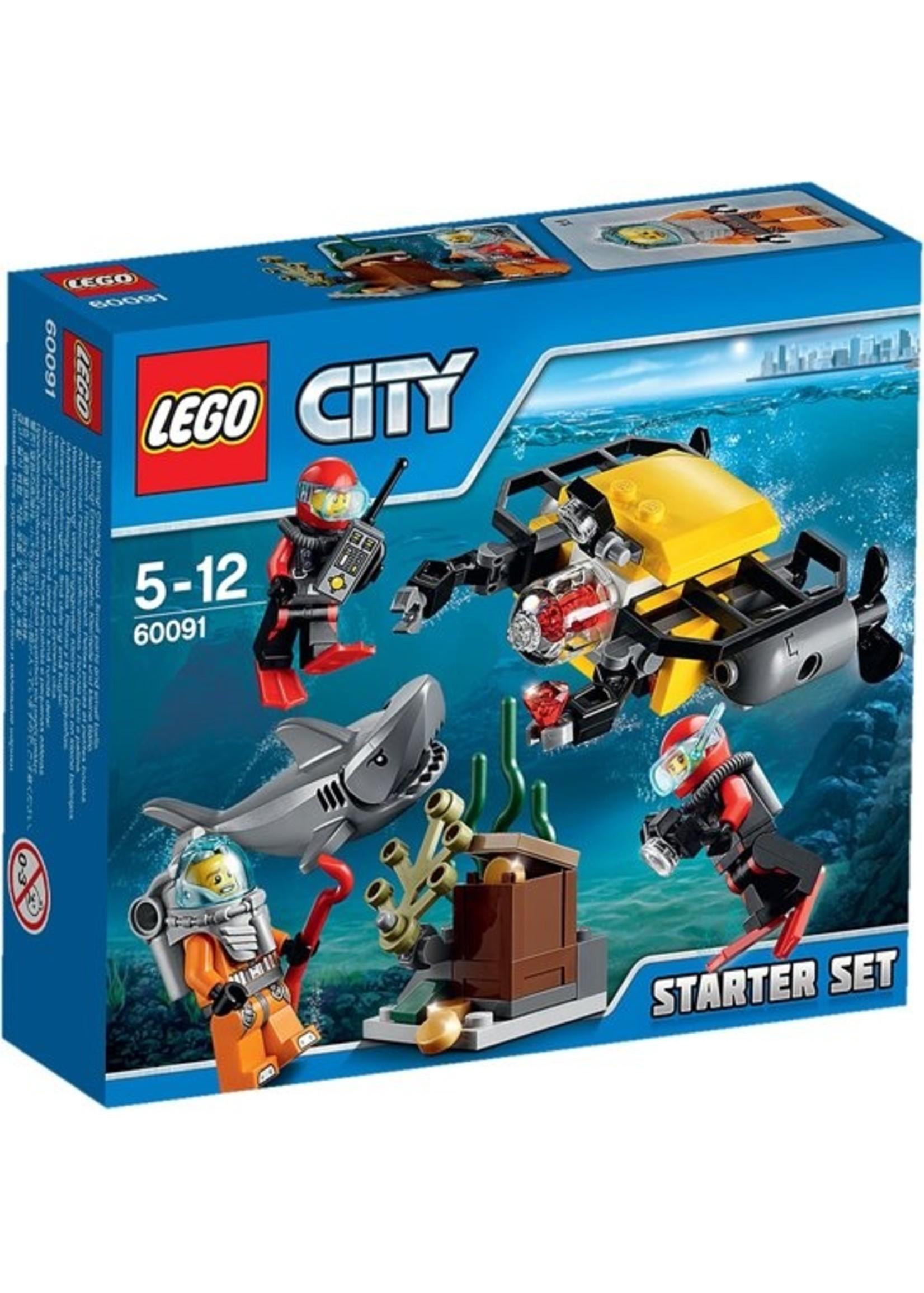LEGO City Diepzee Starter Set 60091