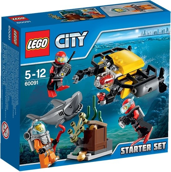 CharactersMania LEGO City Diepzee Starter Set 60091
