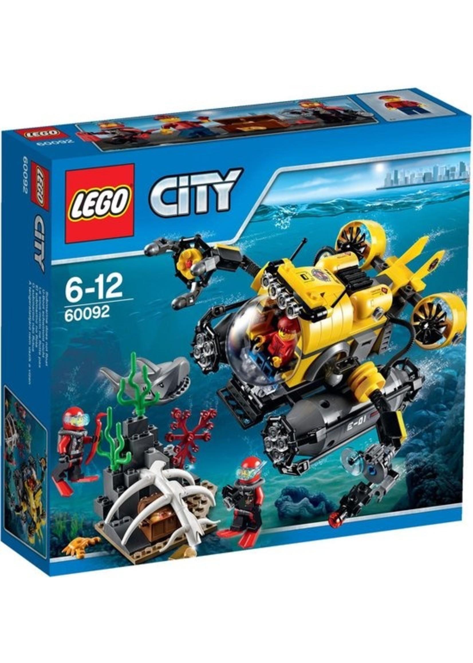 LEGO City Diepzee Duikboot 60092