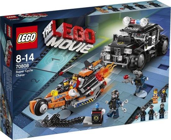 CharactersMania LEGO Movie Supermotor Achtervolging 70808