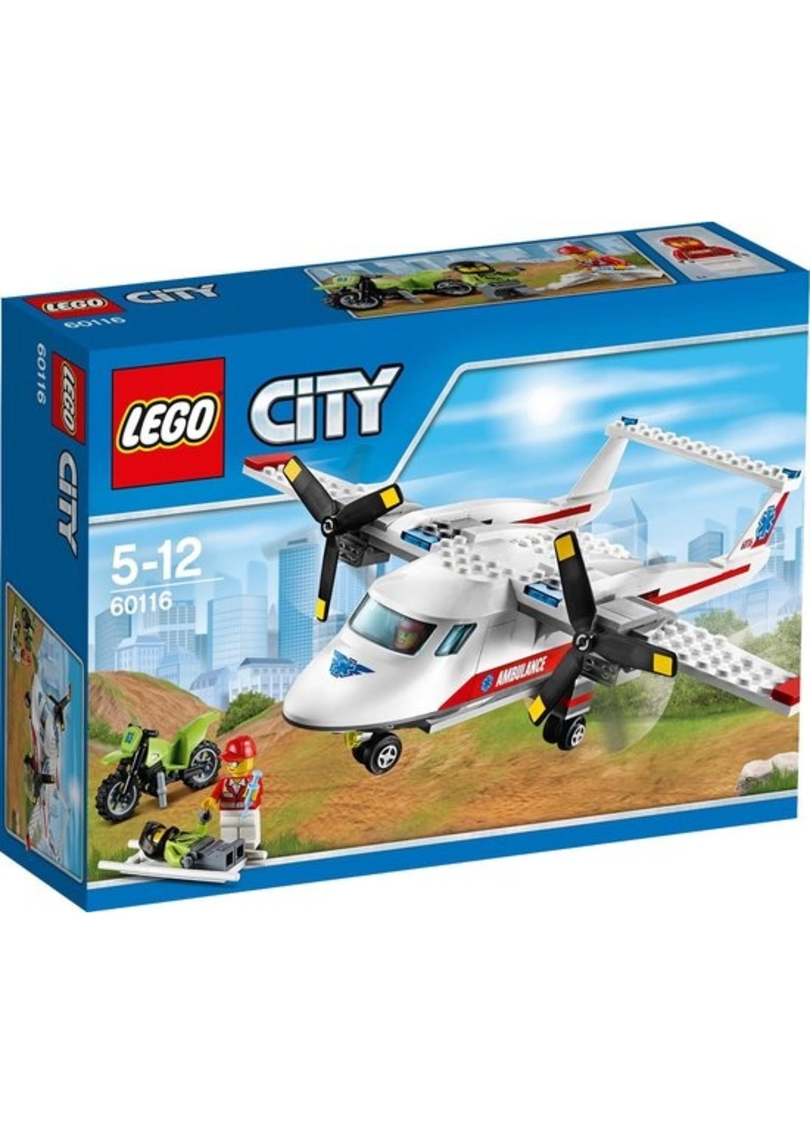 LEGO City Ambulancevliegtuig - 60116