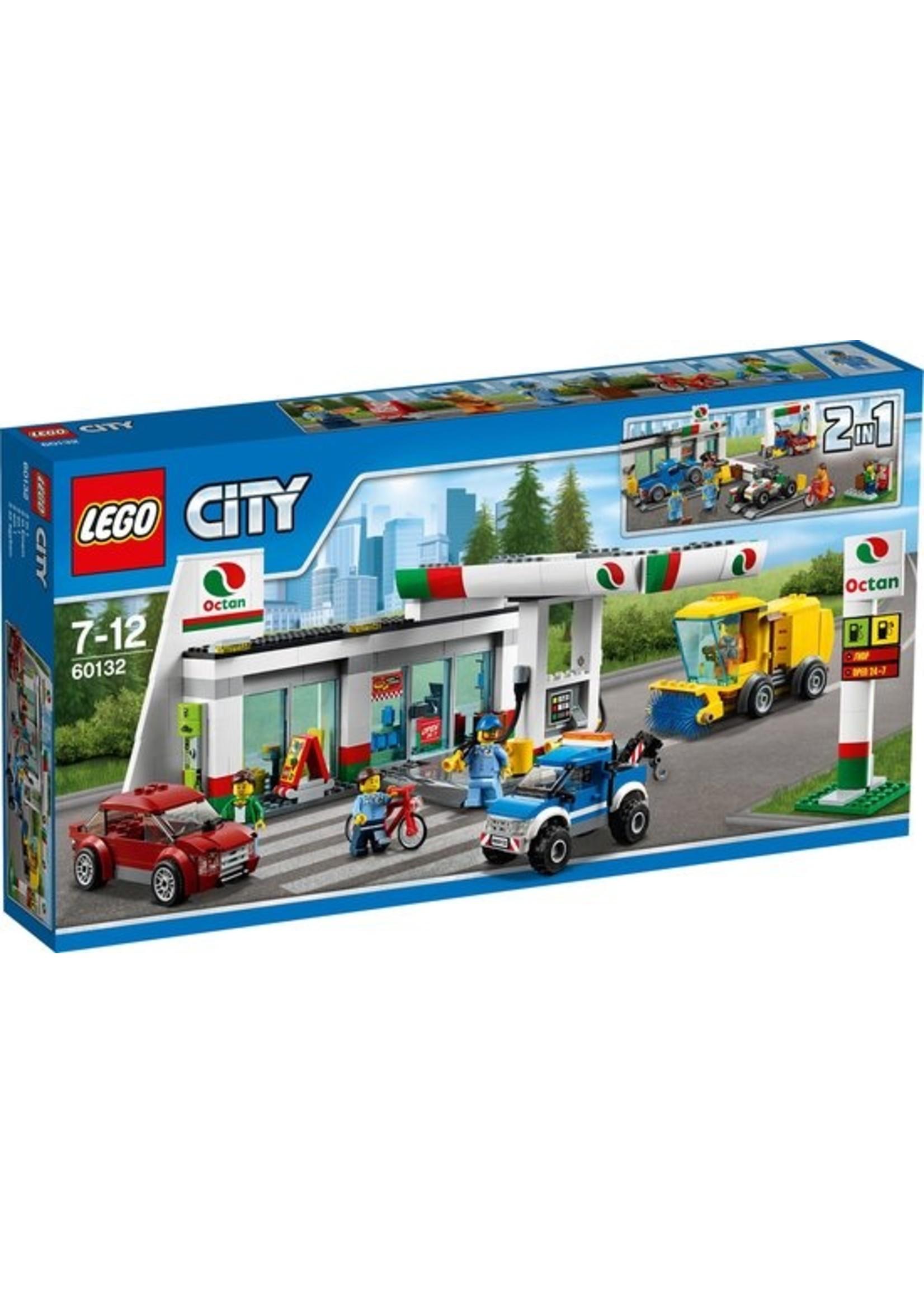 LEGO City Benzinestation - 60132