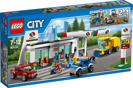 CharactersMania LEGO City Benzinestation - 60132