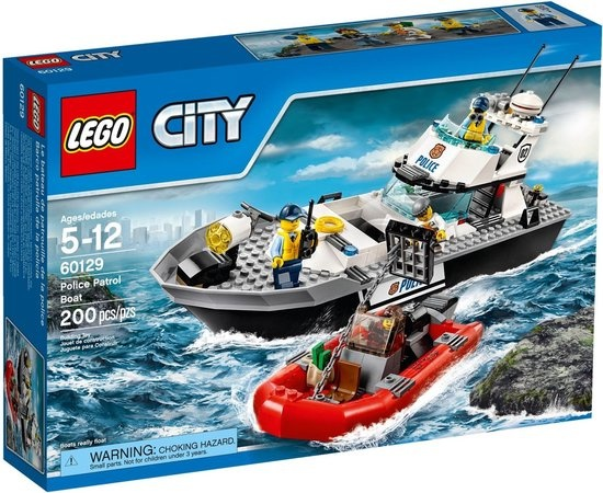 CharactersMania LEGO City Politie Patrouilleboot - 60129