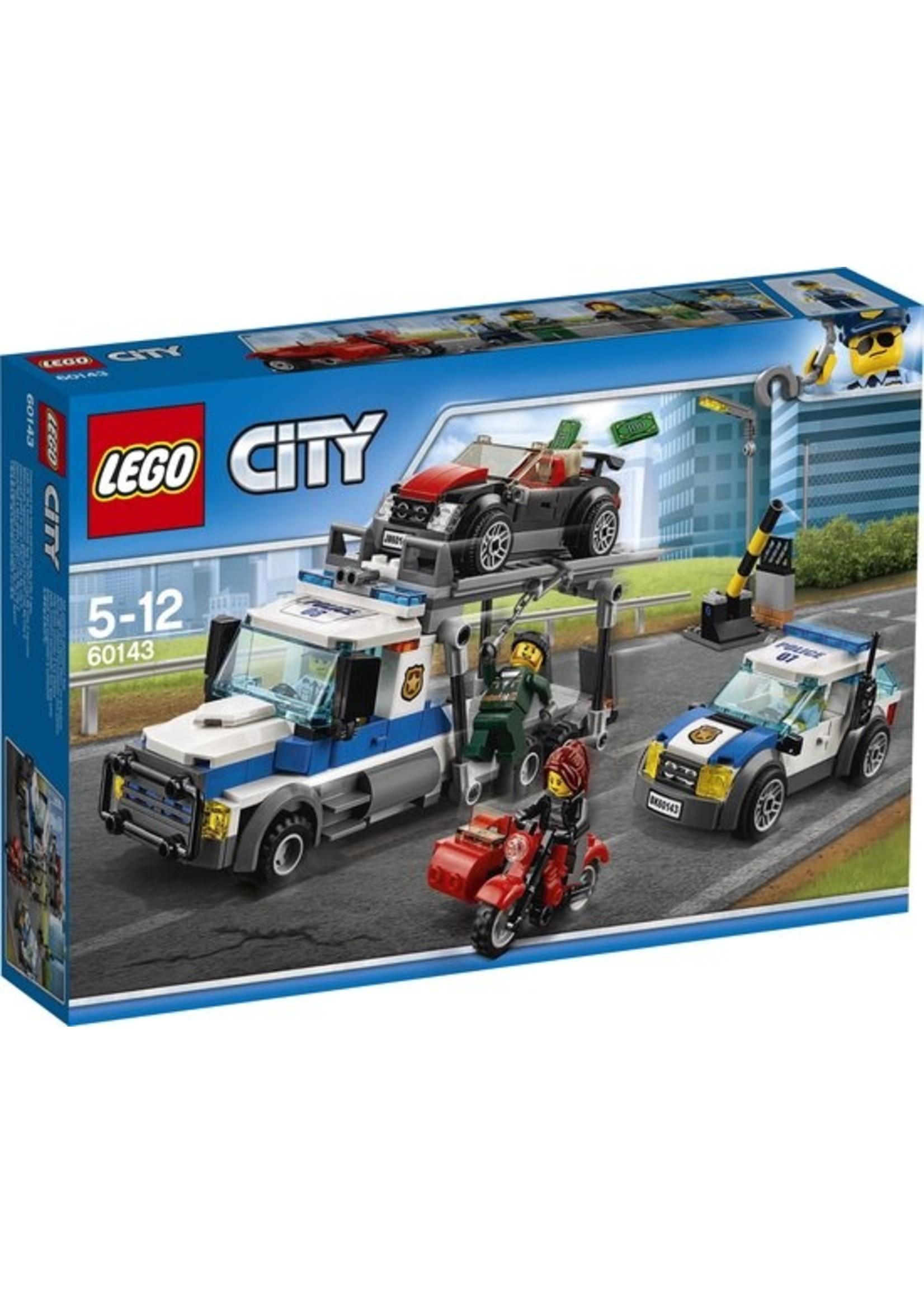 LEGO City Auto Transport Heist - 60143