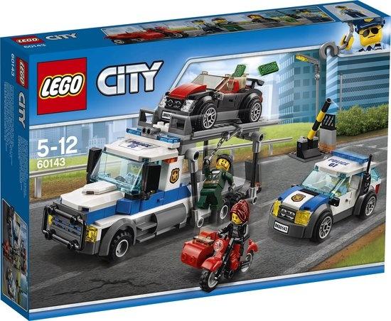 CharactersMania LEGO City Auto Transport Heist - 60143