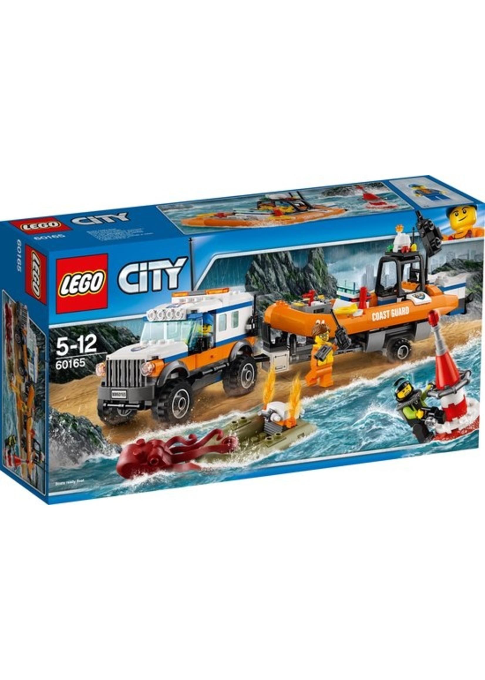 LEGO City 4x4 Reddingsvoertuig - 60165