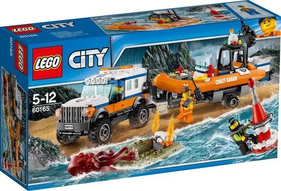 CharactersMania LEGO City 4x4 Reddingsvoertuig - 60165