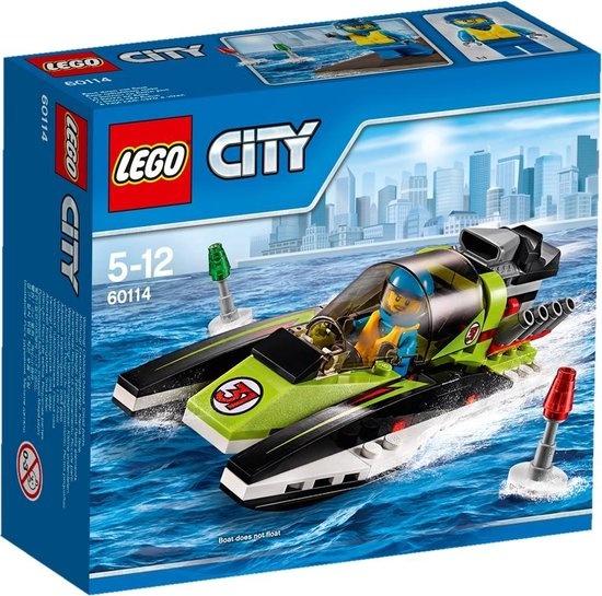 CharactersMania LEGO City Raceboot - 60114