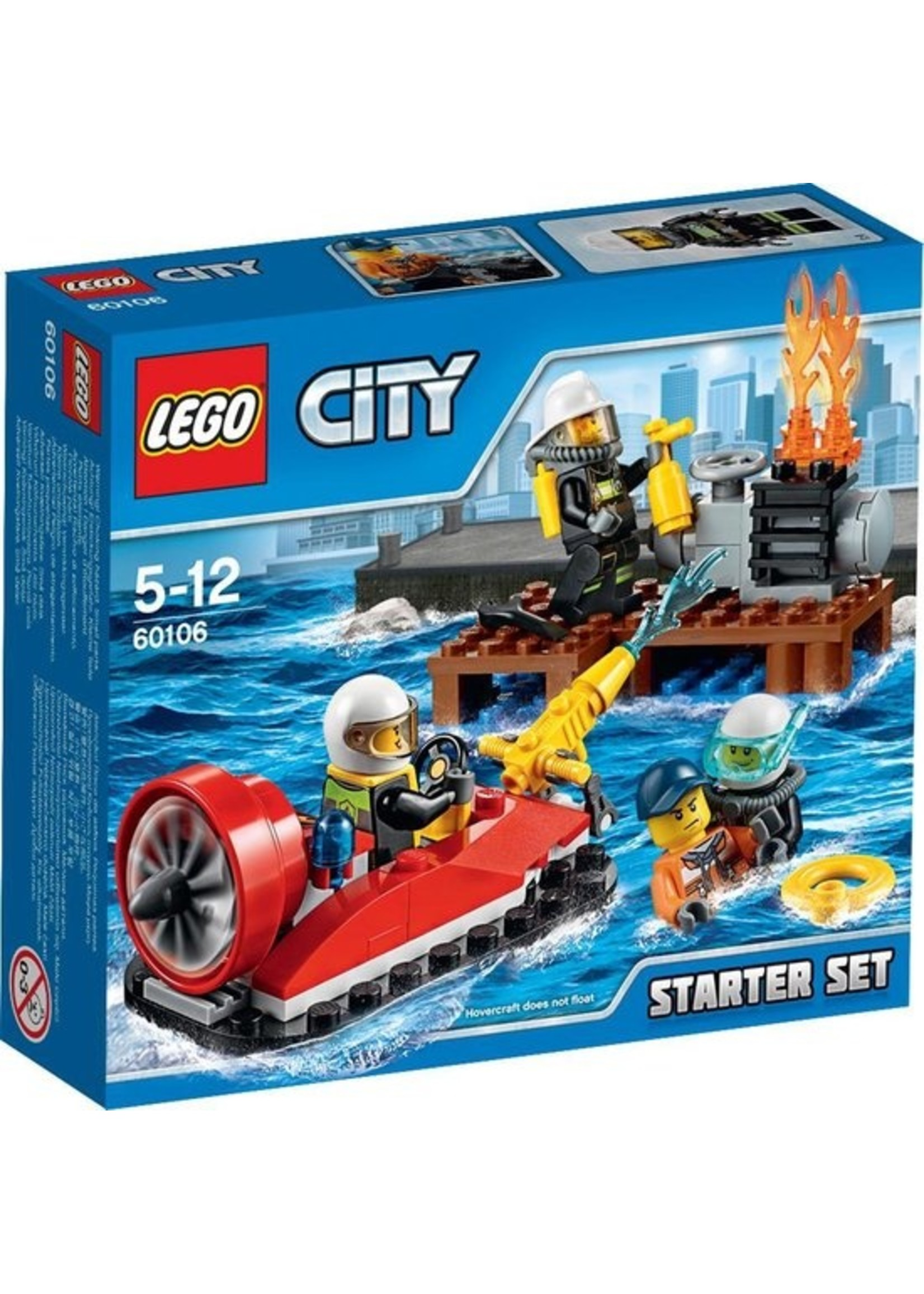 LEGO City Brandweer Starter Set - 60106
