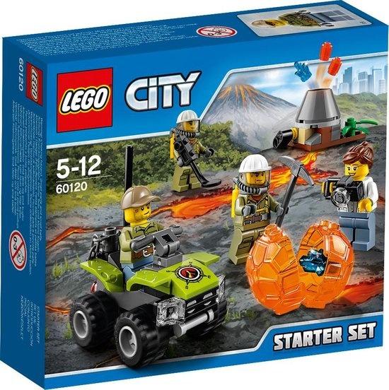 CharactersMania LEGO City Vulkaan Starter Set - 60120