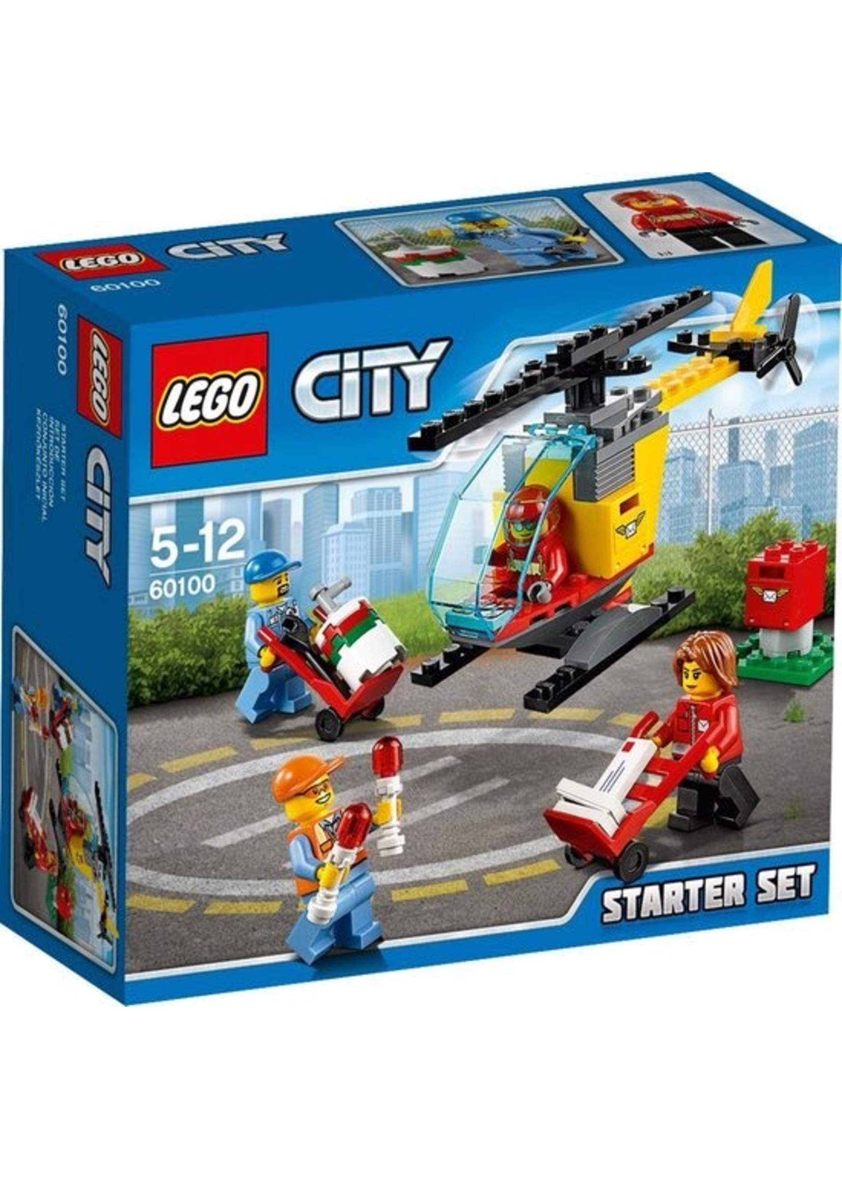 LEGO City Vliegveld Starter Set - 60100