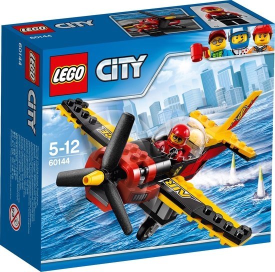 CharactersMania LEGO City Racevliegtuig - 60144