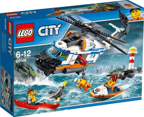 CharactersMania LEGO City Zware Reddingshelikopter - 60166