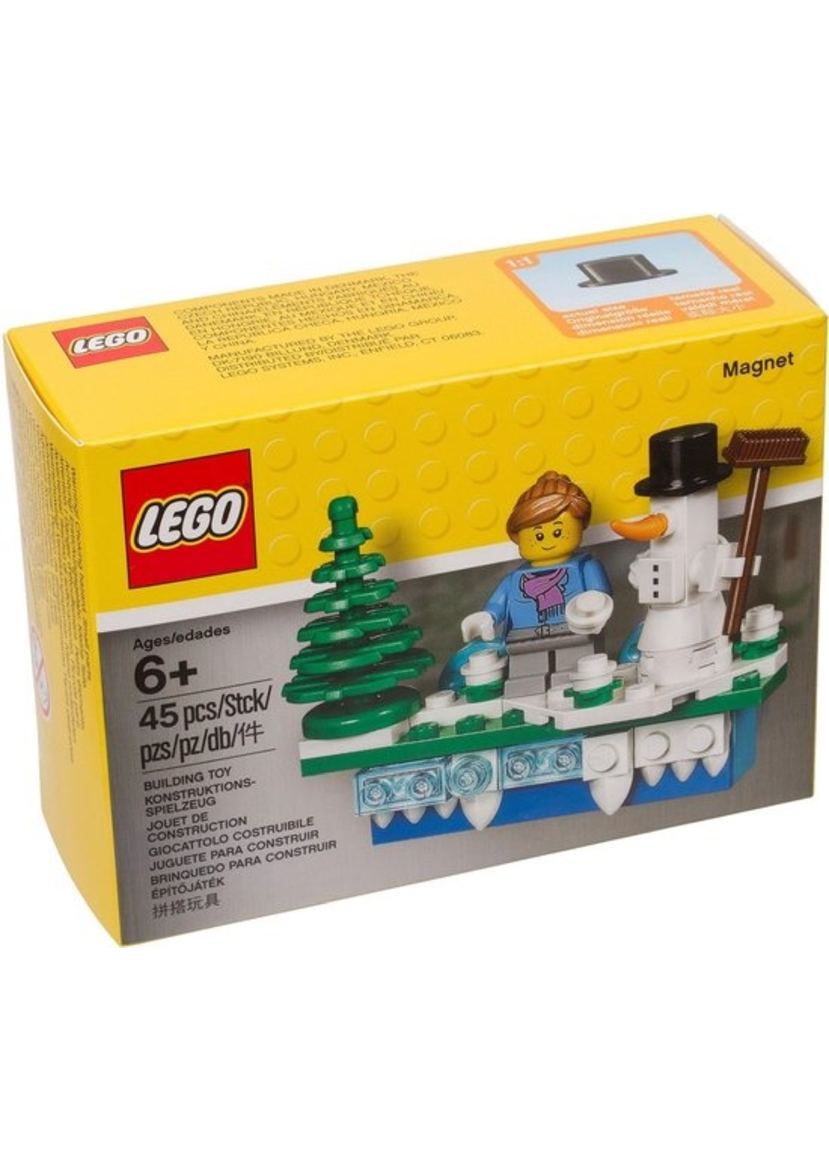 LEGO® Magneet met Kersttafereel - 853663
