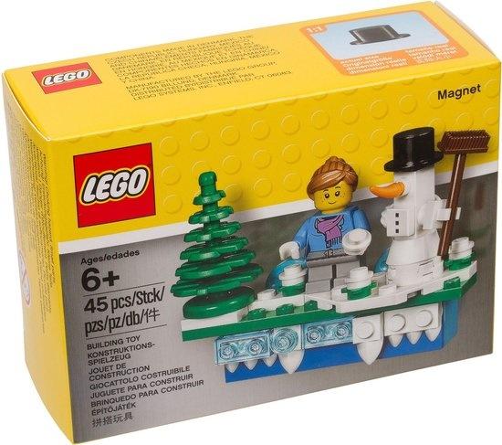 CharactersMania LEGO® Magneet met Kersttafereel - 853663