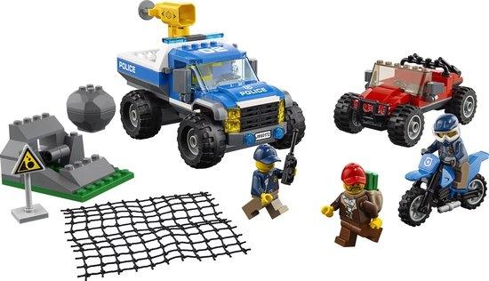 CharactersMania LEGO City Bergpolitie Modderwegachtervolging - 60172