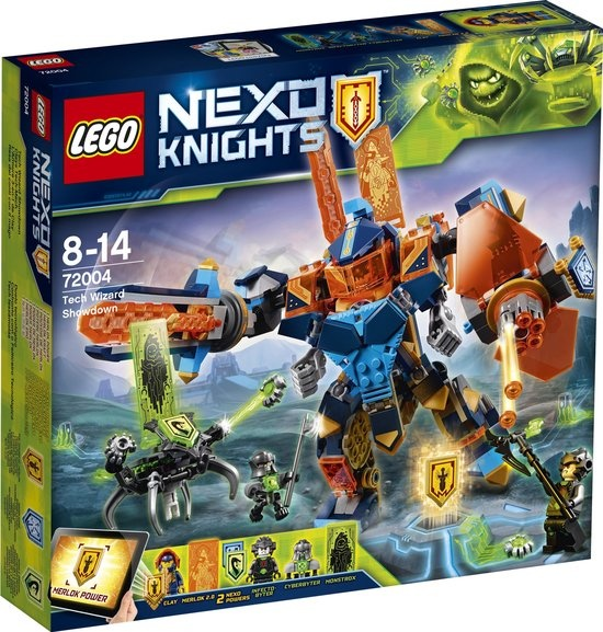 CharactersMania LEGO NEXO KNIGHTS Duel tussen Techexperts - 72004