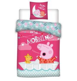 Peppa Pig Peppa Pig Junior Duvet Cover Set Sleep Tight - - Copy