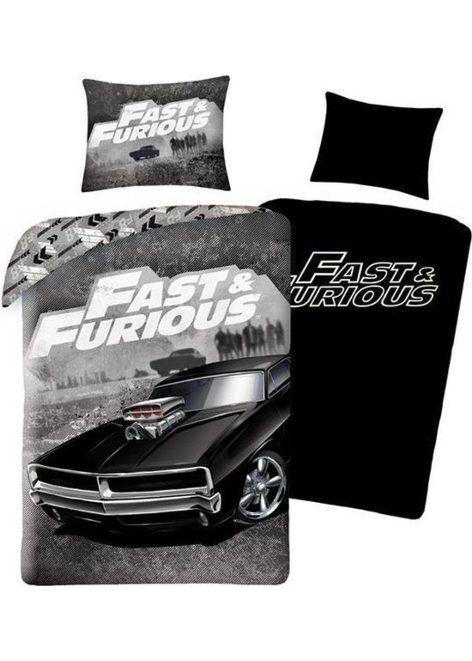 Fast & Furious Dekbedovertrek Glow in the Dark