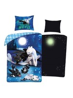 Dreamworks How to Train your Dragon Duvet Glow in the Dark