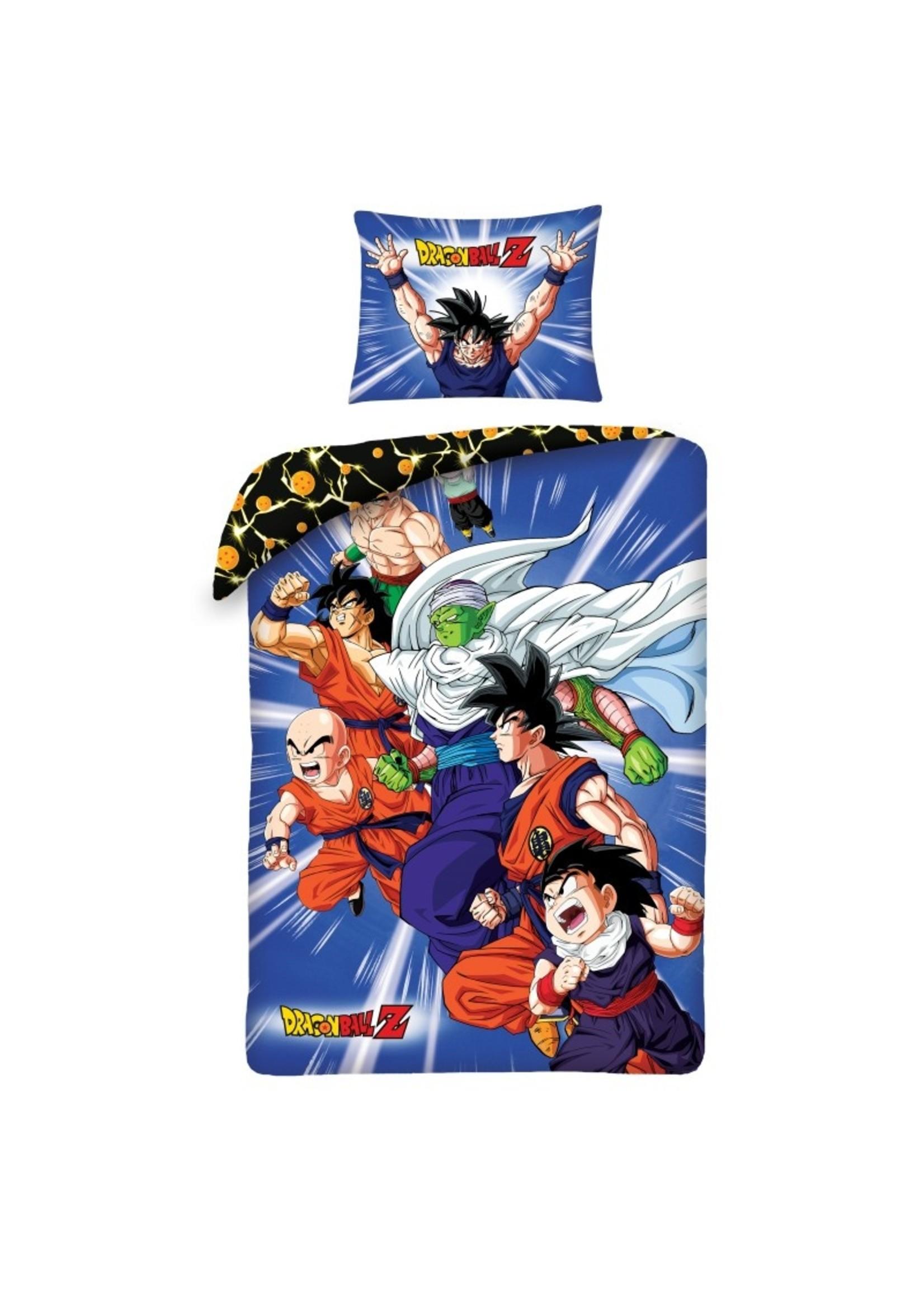 Dragonball Dekbedovertrek 140x200 Katoen Dragon Ball -