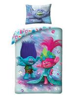 Dreamworks Trolls Blue Duvet Cover  Poppy - Copy
