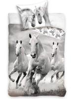Paard Dekbedovertrek 140x200 100%Cotton