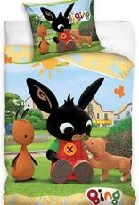 CharactersMania Bing Bunny Dekbedovertrek 140x200 Katoen