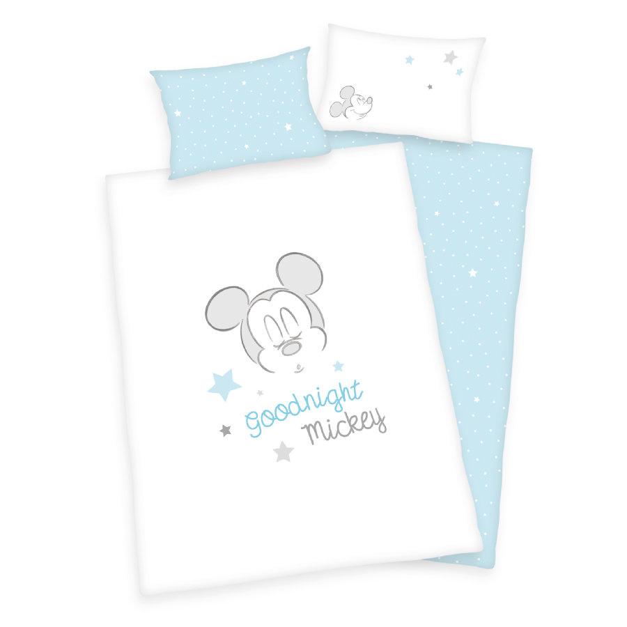 Disney Mickey Mouse  Junior Dekbedovertrek 100x135 BioKatoen