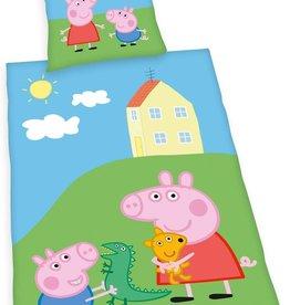 Peppa Pig Peppa Pig Dekbedovertrek 140x200 Katoen GroteKussensloop 70x90