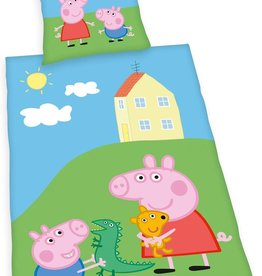 Peppa Pig Peppa Pig Duvet Cover Set Sleep Tight  140x200 Cotton Pillowcase 70x90