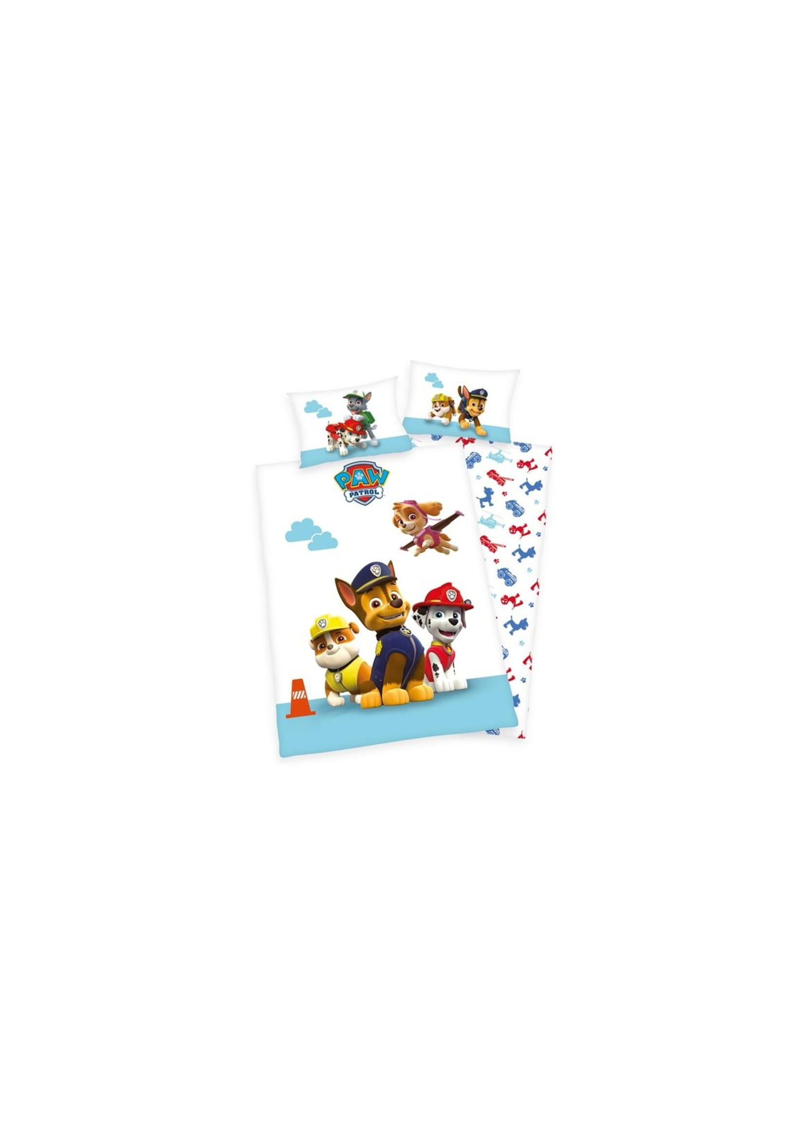 Disney Paw Patrol  Junior Dekbedovertrek 100x135 BioKatoen