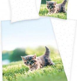 Kitten Duvet 140x200 cotton Cat