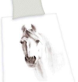 Horses Duvet 140x200 Cotton 70x90