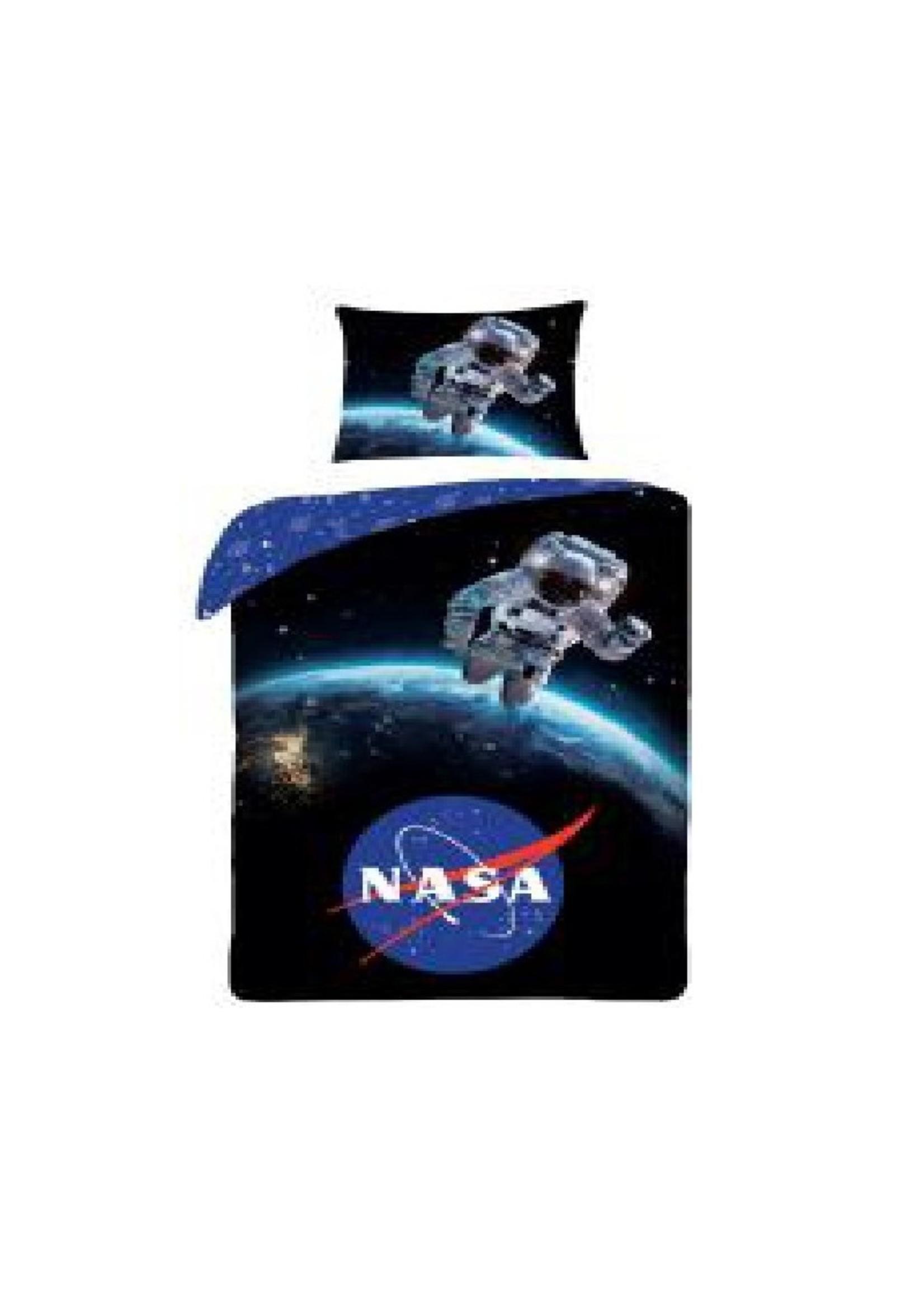 NASA Dekbedovertrek Space 140x200 Katoen Grote kussensloop 70x90