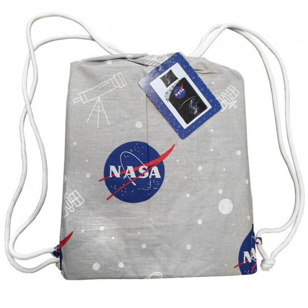 NASA NASA Dekbedovertrek Space 140x200 Katoen Grote kussensloop 70x90