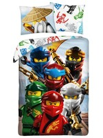 Lego Ninjago  Quadrant Single Duvet