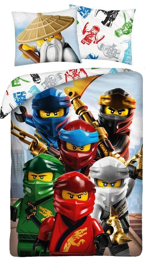 Lego Dekbed Lego Ninjago crew: 140x200/70x90 cm