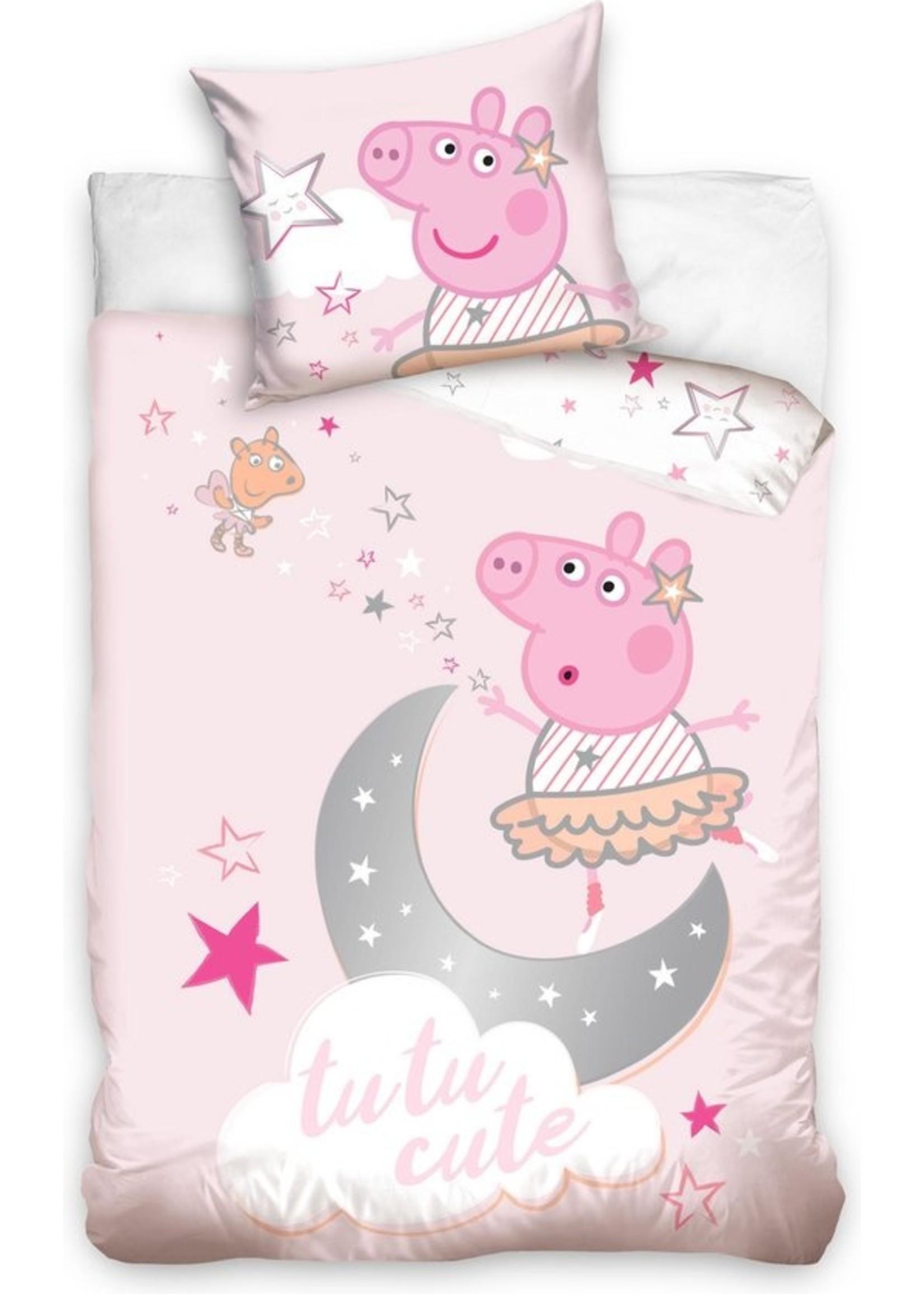 Peppa Pig Peppa Pig Junior Dekbedovertrek 100x135cm