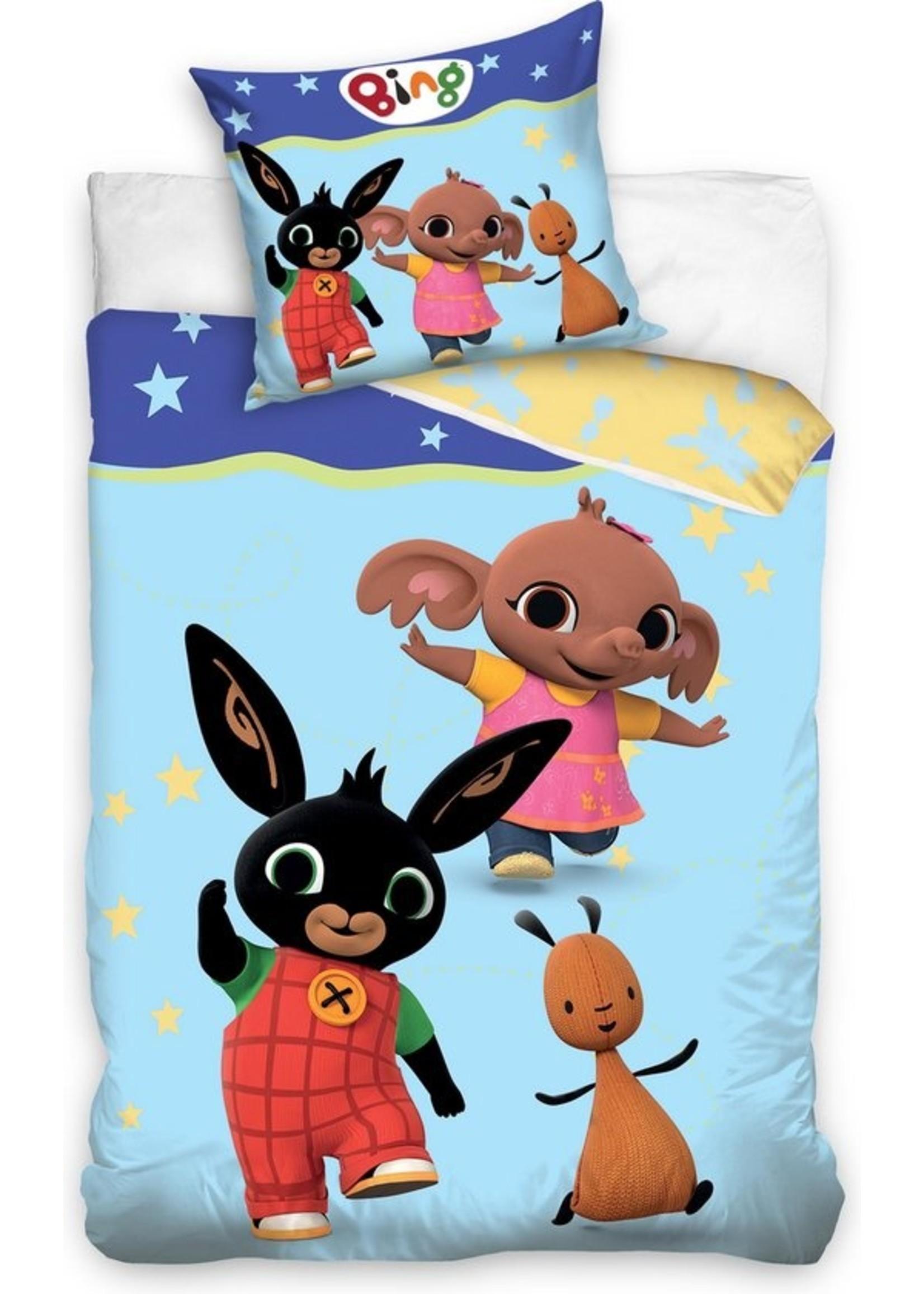 Bing Bunny Junior Dekbedovertrek Blauw -