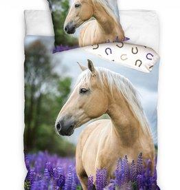 Paarden dekbedovertrek 140x200cm 100% Katoen Grote kussensloop 70x90cm