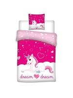 Unicorn Eenhoorn Dekbedovertrek 140x200 Polyester