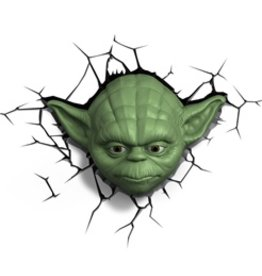 Star Wars Lamp Yoda 3D