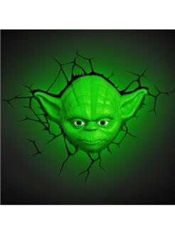Star Wars Lamp Yoda 3D