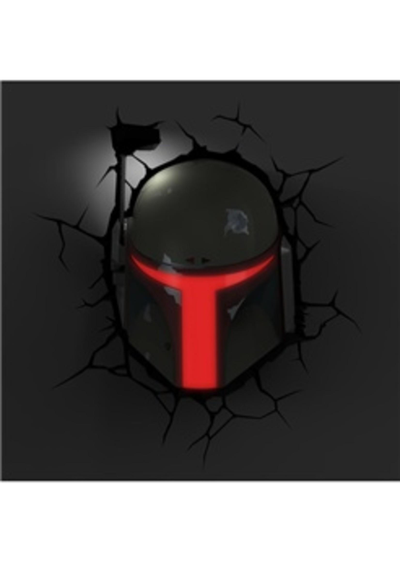 Star Wars Lamp Boba Fett 3D LED