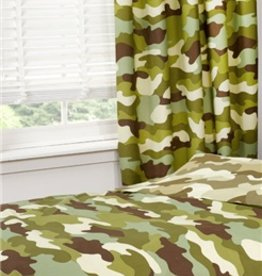 Camouflage Gordijnen