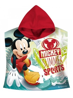 Mickey MousePoncho Handdoek Sports