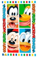 Mickey Mouse Handdoek